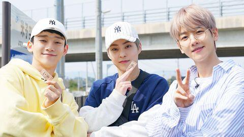 EXO's Travel the World On a Ladder - CBX in Japan