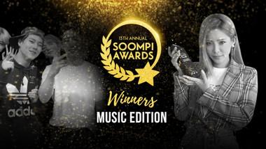13th Annual Soompi Awards Episode 1: Music Winners(ft. GOT7, MONSTA X, GFRIEND, Heize)
