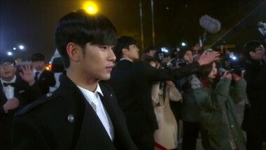 Romantic Kiss on the Red Carpet: My Love From the Star
