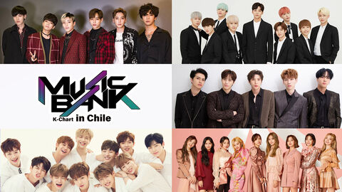 Music Bank K-Chart in Chile
