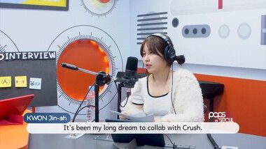 Pops in Seoul Episode 4185: ♦︎Behind Radio Clip♦︎Kwon Jin-ah(권진아)'s Key Word Interview