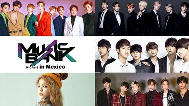 Music Bank K-Chart in Mexico