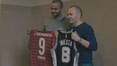 Iniesta's Methodology Episode 5: Tony Parker's event