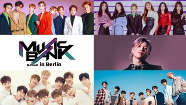 Music Bank K-Chart in Berlin