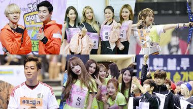 2015 Idol Star Athletics Championships - Chuseok Special
