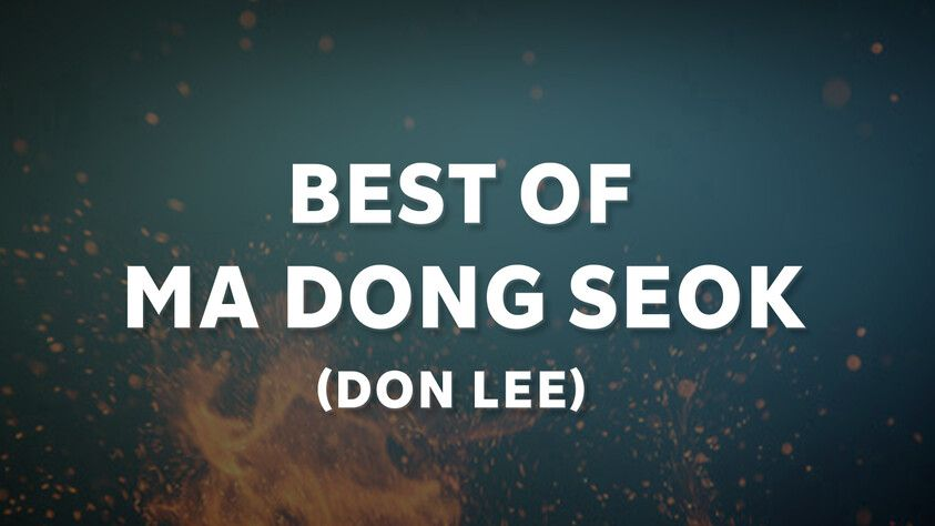 Best of Ma Dong Seok (Don Lee)