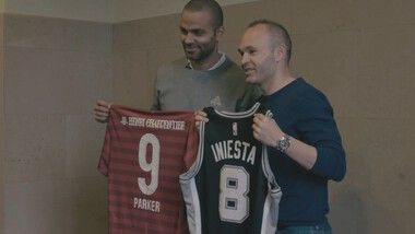 Iniesta TV Episode 42: Iniesta Meets Tony Parker