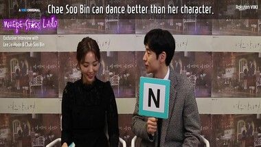 Chae Soo Bin's Dance Moves: Where Stars Land Exclusive Interview: Donde las estrellas aterrizan