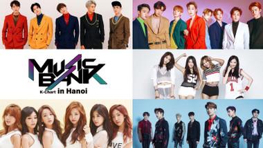 Music Bank K-Chart in Hanoi