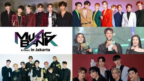 Music Bank K-Chart in Jakarta