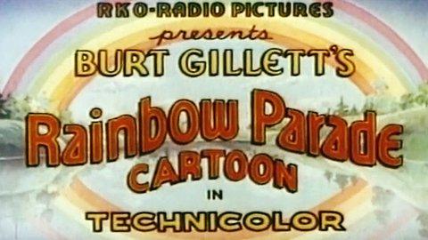 Rainbow Parade Cartoon